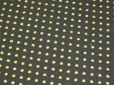 Black Net/Gold Dot
